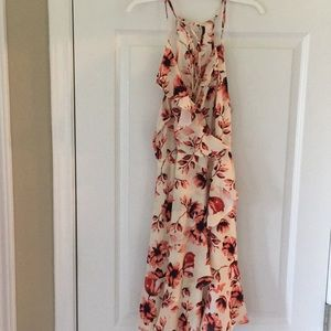Dresses & Skirts - White and pink floral dress